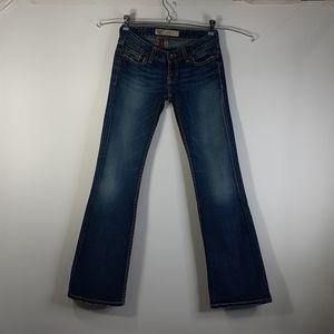 BKE Denim Stretch Stella 25x31 Low Rise Jeans